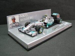 定価の20%OFF1/43scale ミニチャンプス MINICHAMPS Mercedes GP F1 Team Showcar 2011 N.Rosber...