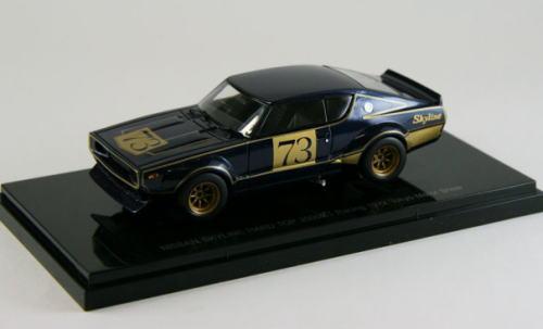 車, ミニカー・トイカー 143 EBBRO Nissan Skyline Hard Top 2000GT Racing 1972 Tokyo Motor Show GT-R KPGC110