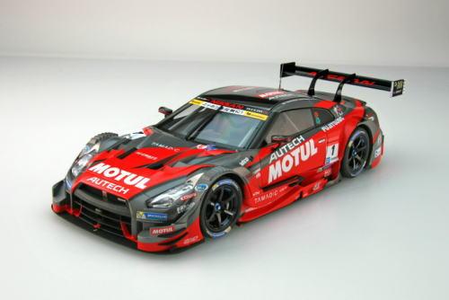 車, ミニカー・トイカー 118 EBBRO Super GT GT500 2016 Rd.2 Fuji Winner Motul Autech GT-R NO.1