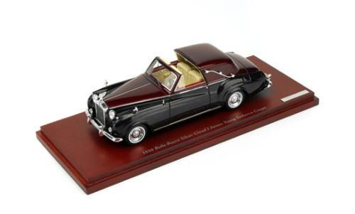 1/43 トゥルースケール TRUESCALE 1958 Rolls-Royce Silver Cloud I James Young Sedanca Coupe ロールスロイス シルバークラウド ミニカー