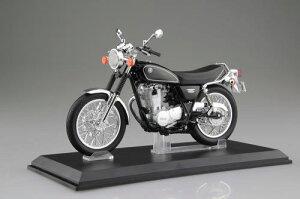 1/12 AOSHIMA アオシマ Yamaha SR 400 ヤマハブラック ヤマハ 完成品バイク