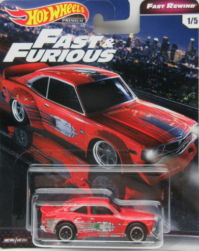 車, ミニカー・トイカー 164 Hot Wheels Fast Furious Mazda RX-3