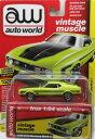 1/64 Auto World 1972 Ford Mustang Mach1 フォード マスタング マッハ1 ミニカー アメ車