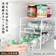 冷蔵庫 ラック 収納 缶ストッカー 上にも置ける缶ストッカー 76572 ギフト プレゼント【RCP】