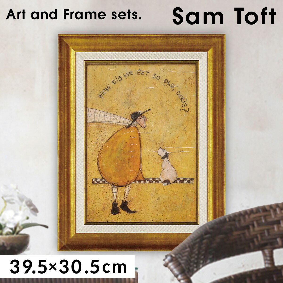 絵画 壁掛け アート アートパネル サムトフト ゲット オールド ドリス ST-05823
