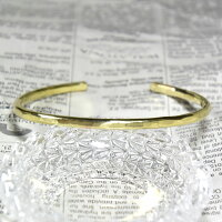 槌目たたき/バングル/Brass(真鍮)
