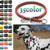 【選べるカラー35色/オーダーメイド】犬用/ハーフチョーク//3/32パラチョーク/パラコードチョーク/パラシュートコード/首輪/11mm