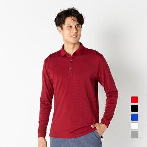 タイトリスト ゴルフウェア 長袖シャツ ウール混スムースシャツ (9683407783) 保温性が高く汗冷え防止 メンズ Titleist