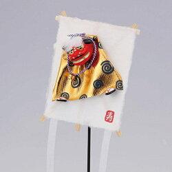 《 正月 装飾 》Parer/パレ 獅子凧飾りL ゴールド 新年 インテリア