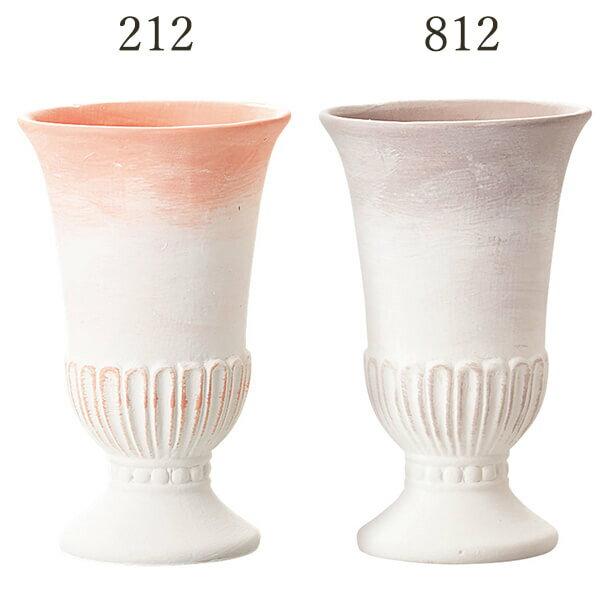 《 陶器 ベース 》◆とりよせ品◆Clay Greco (グレコ) 1箱(1点入り)コンポート