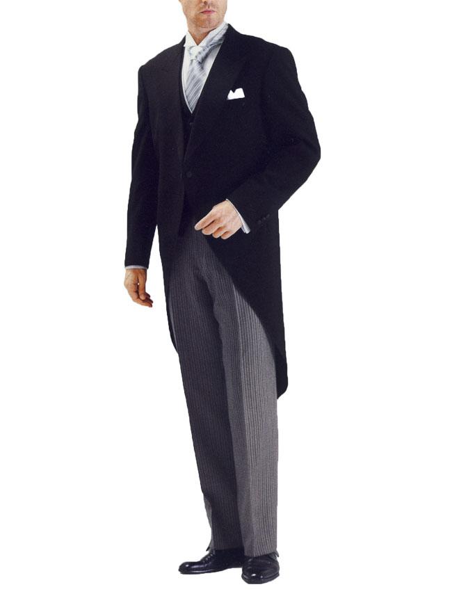 【レンタル】モーニングレンタル 通販 メンズフォーマル お父様第一礼装 スーツ 高級ウール100% [往復送料無料]RM9000