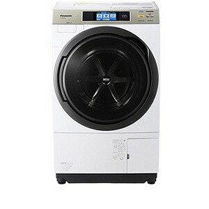 Panasonic ドラム式洗濯乾燥機(10.0kg・左開き) NA−VX9500L−W <クリスタルホワイト>【...