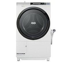 日立 ドラム式洗濯乾燥機(10.0kg・左開き) BD?S8700L(W)<ピュアホワイト>【標準設置無料】