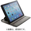 エレコム iPad Air 2用 ソフトレザーカバー 4アングルタイプ ブラック TB‐A14PLF2BK (ブラック)
