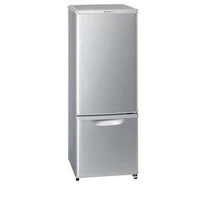Panasonic 2ドア冷蔵庫(168L・右開き) NR−B177W−S <シルバー>【標準設置無料】