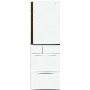 Panasonic 5ドア冷蔵庫(426L・右開き) NR−E430V−W <クラフトホワイト>【標準設置無料】