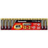 パナソニック 「単3形乾電池」アルカリ乾電池 12+2本パック(限定増量パック) LR6XJSP/14S