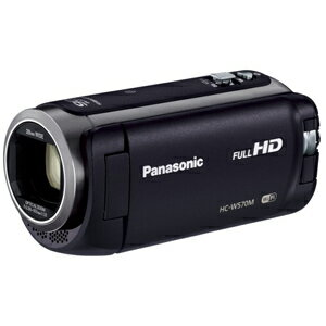 Panasonic デジタルハイビジョンビデオカメラ HC−W570M−K <ブラック>【送料無料】
