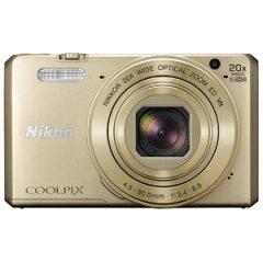 ニコン コンパクトデジタルカメラ COOLPIX S7000 S7000GL〈ゴールド〉【送料無料】