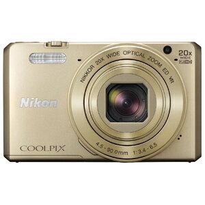 ニコン コンパクトデジタルカメラ COOLPIX S7000 S7000GL〈ゴールド〉【送料…