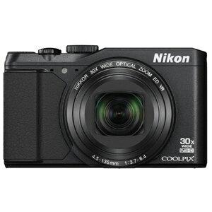 ニコン コンパクトデジタルカメラ COOLPIX S9900 S9900BK〈ブラック〉【送料無料】