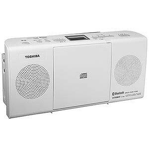 東芝 「ワイドFM対応」CDラジオ(ラジオ+CD)(ホワイト) TY‐CW26 W(送料無料)