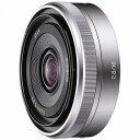 ソニー デジタル一眼カメラα「Eマウント」用レンズ(E16mmF2.8) SEL16F28