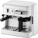 デロンギ ≪エスプレッソマシン兼用≫コーヒーメーカー BCO410J−W <ホワイト>【送料無料】