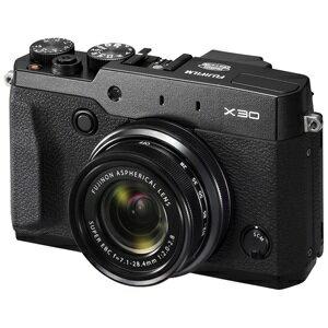 富士フィルム コンパクトデジタルカメラ FUJIFILM X30 <ブラック>【送料無料】