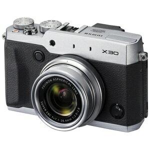 富士フィルム コンパクトデジタルカメラ FUJIFILM X30 <シルバー>【送料無料】