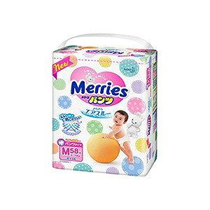 花王 Merries(メリーズ) パンツ さらさらエアスルー Mサイズ 58枚 〔おむつ〕