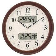 シチズン 掛け時計 ネムリーナカレンダー
