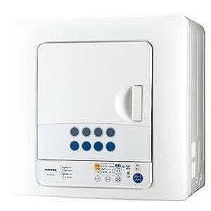東芝 衣類乾燥機(乾燥容量6.0kg) ED−60C−W(ピュアホワイト)(標準設置無料)