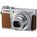 Canon コンパクトデジタルカメラ PowerShot G9 X PSG9X(SL)<シルバ…
