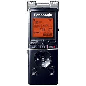Panasonic 【ワイドFM対応】ICレコーダー【4GB】 RR−XS460K <ブラック>【送料無料】