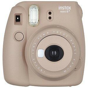 富士フィルム インスタントカメラ 『チェキ』 instax mini 8+(プラス)ココア INSMINI8PCOCOA(送料無料)
