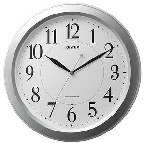 リズム時計工業 電波掛け時計「ピュアライトM26」 4MYA26SR19