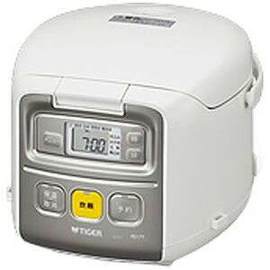 タイガー マイコン炊飯ジャー(3合炊き)「炊きたてミニ」 JAI‐R551‐W (ホワイト)(送料無料)