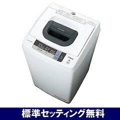 日立 全自動洗濯機(5.0kg)「白い約束」 NW−5WR−W <ピュアホワイト>【標準設置無…