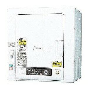 日立 衣類乾燥機(乾燥6.0kg) DE‐N60WV‐W (ピュアホワイト) (標準設置無料)