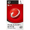 トレンドマイクロ モバイル用セキュリティソフト ウイルスバスターモバイル ライブカード (1年版)...
