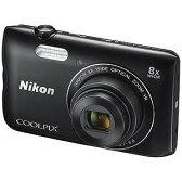 ニコン コンパクトデジタルカメラ COOLPIX(クールピクス) A300(ブラック)(送料無料)