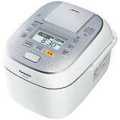 パナソニック 可変圧力スチームIHジャー炊飯器(5.5合炊き)「Wおどり炊き」 SR‐SPX106‐W (スノークリスタルホワイト)(送料無料)