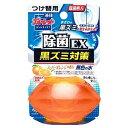 小林製薬 「液体ブルーレットおくだけ」除菌EX スーパーオレンジの香り 無色の水 つめかえ用 エキタイブルーレットジョキンカエオレ