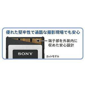 ソニー 64GB XQDメモリーカード(Gシリーズ) QD‐G64E()