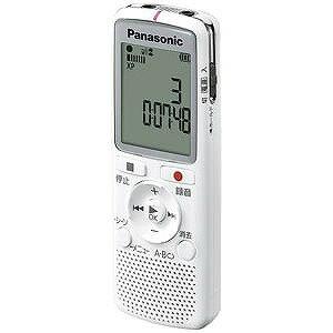 パナソニック ICレコーダー「2GB」(ホワイト) RR‐QR220 W