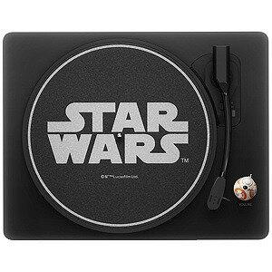 レコードプレーヤー STAR WARS ALL IN ONE RECORD PLAYER UIZZ‐6001 (ブラック)