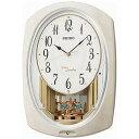 リズム時計工業 電波からくり時計「スモールワールドプラウド」 4MN523RH05