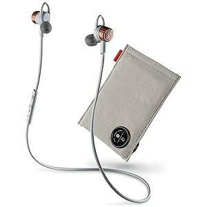 プラントロニクス ステレオイヤホンマイク USB充電ケーブル付 充電ケース付 BackBeat GO3 グレー(送料無料)
