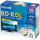 マクセル 録画用 BD−R DL 1−4倍速 50GB 10...